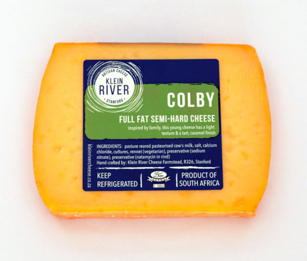 Klein River Colby Cheese
